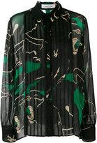 Valentino decorative blouse - women - Cotton/Polyamide/Silk - 40