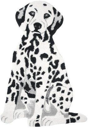 Dalmatian Wool & Cotton Rug For Lvr