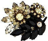 Miriam Haskell Crystal Floral Brooch