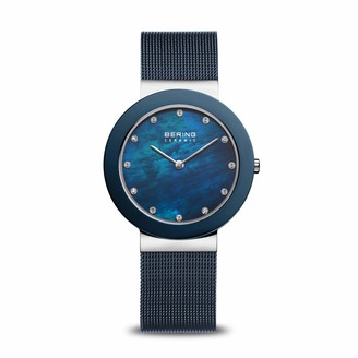 Bering Womens Analogue Quartz Watch with Stainless Steel Strap 11435-387