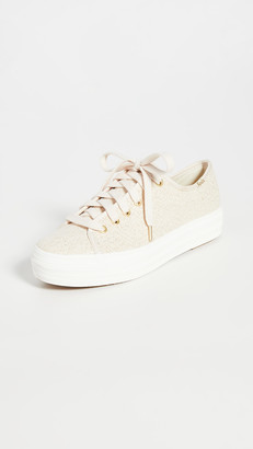 Keds Triple Kick Scattered Lurex Sneakers
