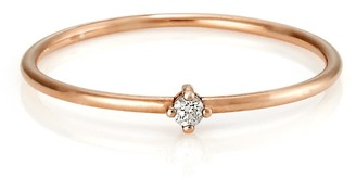 Serafin Jewellery Tiny Diamond & Rose Gold Celeste Ring