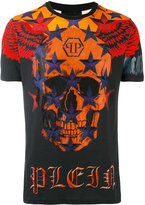Philipp Plein skull face T-shirt - men - Cotton - S