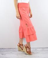 Coral Linen Pants - ShopStyle
