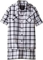 eve jnr Oversize Button Up Tunic Shirt (Infant/Toddler/Little Kids)