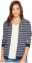 Roxy Trippin Stripe Zip Hoodie Women's Sweatshirt