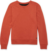 Nigel Cabourn - + Peak Performance Cotton And Wool-blend Jersey Sweatshirt