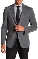 HUGO BOSS Norwin Grey Two Button Notch Lapel Trim Fit Jacket