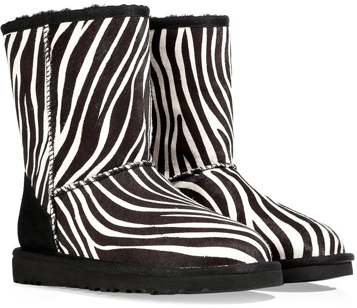 UGG Zebra Classic Short Exotic Boots