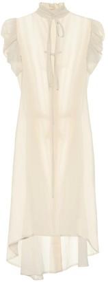 Ann Demeulemeester Cotton midi dress