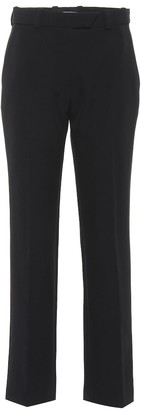 Thierry Mugler Mid-rise straight pants
