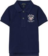 Ralph Lauren Blue Flag Polo Shirt