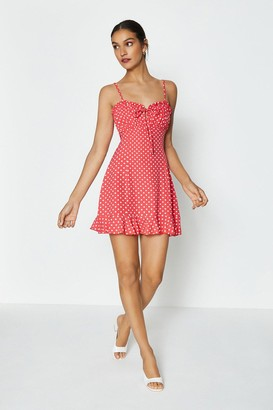 Coast Spot Keyhole Summer Dress