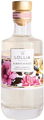 Lollia Always in Rose Bath Oil - Rose & Hibiscus