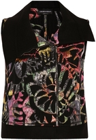 Emporio Armani Jacquard Sleeveless Jacket