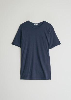 Need Women's Short Sleeve Dye T-Shirt in Navy, Size Large | 100% Cotton