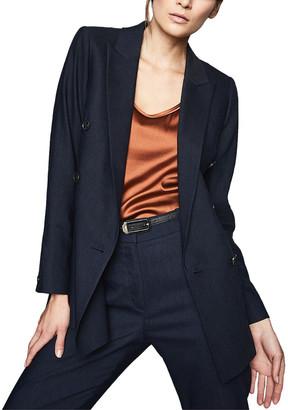 Reiss Belle Linen-Blend Jacket