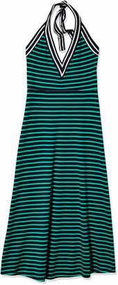 Cynthia Rowley Women's Lisbon Striped Halter Dress