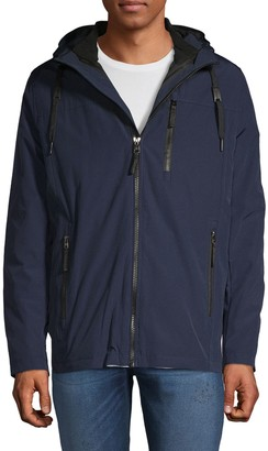 Calvin Klein Convertible Hooded Zip Jacket