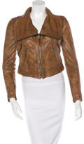 Yigal Azrouel Convertible Leather Jacket