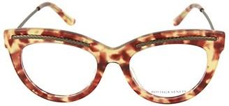 Bottega Veneta 49MM Cat Eye Novelty Optical Glasses
