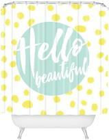 Deny Designs Allyson Johnson Hello Beautiful 2 Shower Curtain