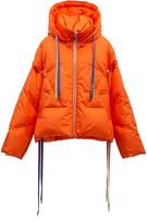 Khris Waterproof Down Puffer Jacket with Detachable Sleeves