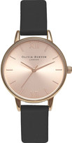 Olivia Burton Ob15md39 Midi Dial rose gold-plated stainless steel watch