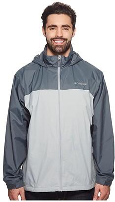 Columbia Big Tall Glennaker Lake Lined Rain Jacket Grey/Graphite) Men's Coat