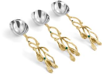 Michael Aram Mistletoe Spoon Set