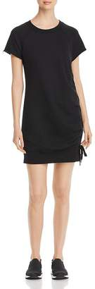 Andrew Marc French Terry Lace-Up Dress