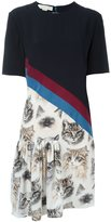 Stella McCartney 'Bellucci' cat print dress - women - Silk - 46