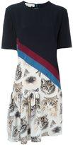 Stella McCartney 'Bellucci' cat print dress