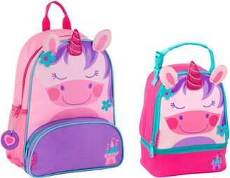 Stephen Joseph Mermaid Sidekick Backpack & Lunch Pal