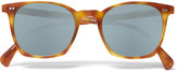 Oliver Peoples - L.a. Coen Square-frame Acetate Sunglasses