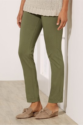 Women Super Stretch Ankle Pants