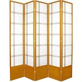 Oriental Furniture Extra Large Durable, 84-Inch Double Cross Japanese Shoji Screen Room Divider