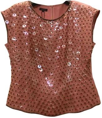 Escada Pink Glitter Top for Women