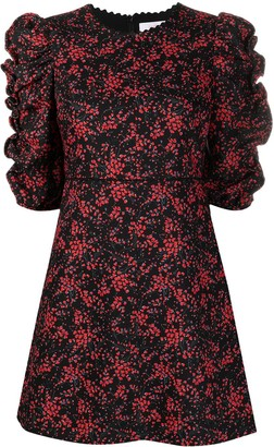 See by Chloe Empire Line Floral-Print Short Dress