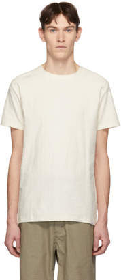 Norse Projects Off-White Towelling Texture Niels T-Shirt