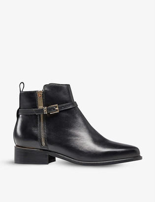 Dune Pop leather ankle boots