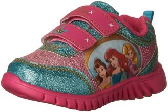 Disney Princesses Rapunzel Ariel and Belle Athletic Shoe