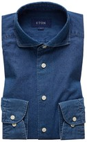 Eton Soft Dressy Denim Shirt - Slim Fit