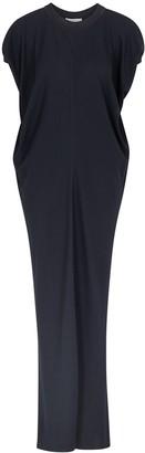 The Row Fer navy maxi dress
