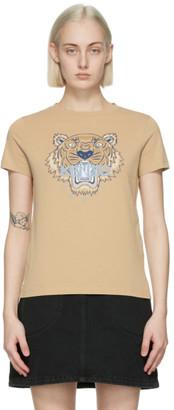 Kenzo Beige Classic Tiger T-Shirt