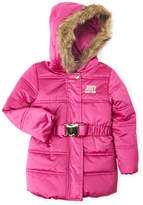 Juicy Couture Toddler Girls) Belted Faux Fur Jacket
