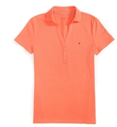 Tommy Hilfiger Final Sale-Y- Neck Solid Polo