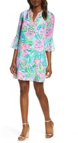 Lilly Pulitzer R) Elenora Floral Silk Shift Dress
