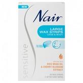Nair Sensitive Large Wax Strips Legs & Body 20 pack