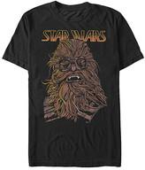 Fifth Sun Men's Tee Shirts BLACK - Star Wars String Chewie Tee - Men